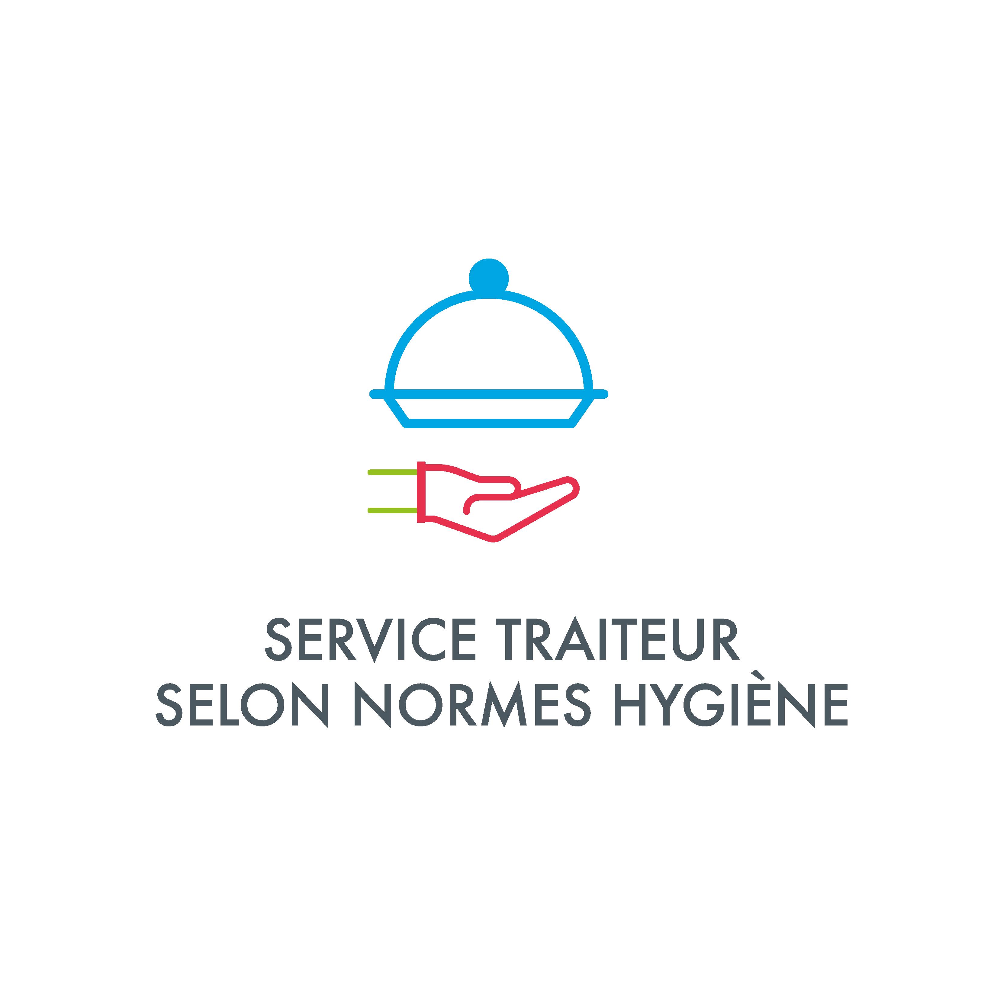 Service traiteur selon les normes d'hygiène